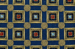 Abstract pattern ornamented textile Stock Photo