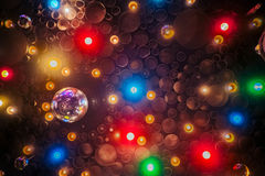 Party lights. An abstract pattern of party lights royalty free stock image