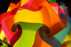 Abstract pattern. A picture of abstract patterns of plastic Stock Image