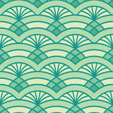 Abstract pattern with pineapple Royalty Free Stock Photography