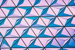 Abstract pattern in pink and blue Royalty Free Stock Images