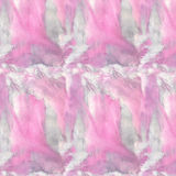 Abstract pattern pink. Gray and pink spots, blurred watercolor splashes. Watercolor painting. Can be used for postcards, prints and design royalty free illustration