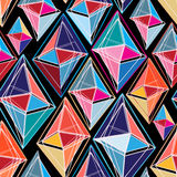 Abstract pattern of polygons Royalty Free Stock Photography