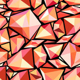 Abstract pattern polygons Stock Photos