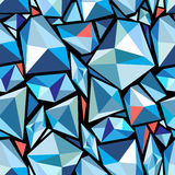 Abstract pattern polygons Royalty Free Stock Photos