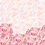 Abstract orange-purple pattern Stock Photo