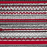 Abstract pattern in red and black Royalty Free Stock Photos