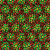 Abstract  pattern, red-green Royalty Free Stock Photos