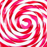 Abstract pattern of red and white candy Royalty Free Stock Photography