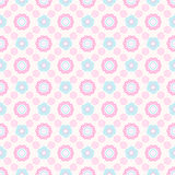 Abstract pattern. Seamless abstract floral pattern Stock Photography