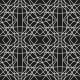 Abstract pattern. Seamless vector background. Black and white texture. Graphic modern pattern Royalty Free Stock Image