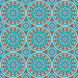 Abstract pattern seamless. Vector seamless pattern. Colorful ethnic ornament. Arabesque style Royalty Free Stock Photo