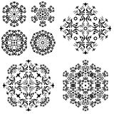 Abstract pattern, set Stock Photography