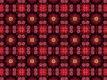 Abstract pattern in shades of crimson Royalty Free Stock Photography