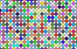Abstract pattern shape, for graphic design, artistic. Digital, pixel, tile & artwork. Colored 3D sphere, circle or ellipse pattern for design wallpaper, texture royalty free illustration