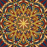 Abstract pattern for shawl. Royalty Free Stock Photo