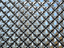 Abstract pattern of  small metal Stock Photos