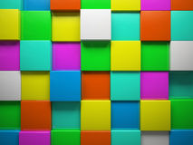 Abstract pattern of  square Royalty Free Stock Photos