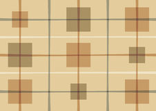 Abstract pattern with squares. Brown background with squares Stock Illustration