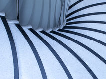 Abstract pattern in stairs Stock Images