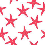 Abstract pattern of starfish Royalty Free Stock Photos