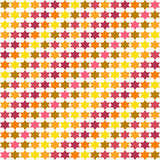 Abstract pattern with stars, background, texture. Stock Photo