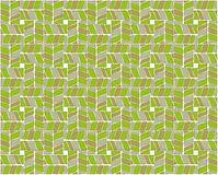 Abstract  pattern of stylized leaves of trees Stock Image