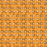 Abstract pattern of stylized rectangles Royalty Free Stock Photography