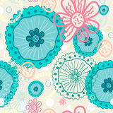 Abstract pattern summer motives. It can be used for printing on packaging, bags, cups, textile, etc. Vector illustration Stock Photos
