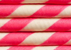 Abstract pattern on sweets Royalty Free Stock Photos