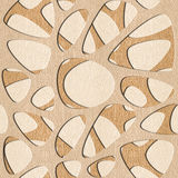Abstract pattern synapse - seamless background - White Oak wood Stock Photos