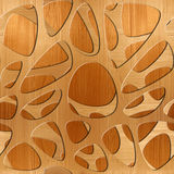 Abstract pattern synapse - seamless background - wood texture. Abstract pattern synapse - seamless background - wood surface Royalty Free Stock Image