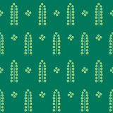 Abstract pattern texture, green plants Stock Photos