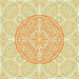 Abstract pattern tile in light colors Stock Photo