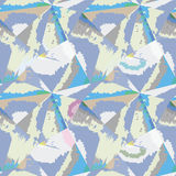 Abstract pattern. Tiled geometric seamless background Royalty Free Stock Photography