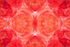Abstract pattern of tomato slices. Royalty Free Stock Photo