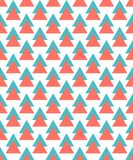 Abstract pattern with triangle shape. seamless tiling background royalty free illustration
