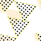 Abstract pattern - triangles Royalty Free Stock Images
