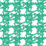 Abstract pattern underwater world Royalty Free Stock Photos