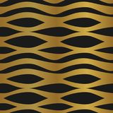 Abstract pattern unusual style golden seamless background. Yellow and black. Seamless geometric unusual pattern, luxury abstract gold style. Yellow and black vector illustration