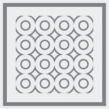 Abstract pattern. Vector. Abstract vector illustration background depicting a framed pattern Royalty Free Stock Photo