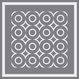 Abstract pattern. Vector. Abstract vector illustration background depicting a framed pattern Royalty Free Stock Photos