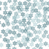 Abstract pattern vector background. With snowflakes Royalty Free Stock Images