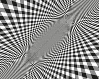 Abstract pattern. Vector illustration.  Black and white image on a white background. Stock Image