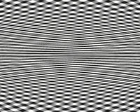 Abstract pattern. Vector illustration.  Black and white image on a white background. Stock Photography