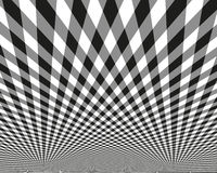 Abstract pattern. Vector illustration.  Black and white image on a white background. Royalty Free Stock Image