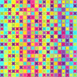 Abstract pattern. Vector seamless geometric background Royalty Free Stock Photos