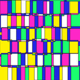 Abstract pattern1. Vector seamless abstract pattern in pop art style Royalty Free Stock Photo