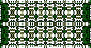 City-garden. Abstract pattern. wallpaper and texture for interior and Web gesign. White, green, black and grey colors Royalty Free Stock Photo