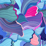 Abstract pattern wave Stock Image